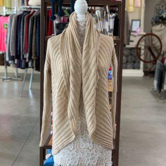 Beige Lima Alpaca Blend Sweater