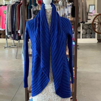 Persian Blue Alpaca Blend Sweater
