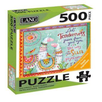 500 Piece Llama Puzzle