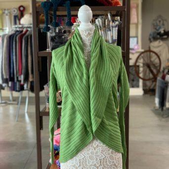 Light Green Lima Alpaca Blend Sweater