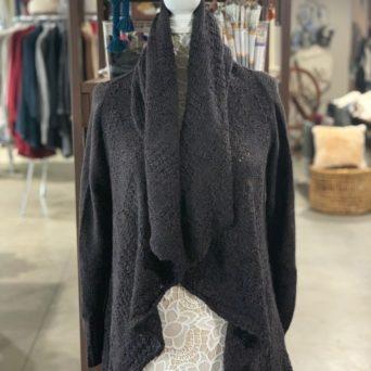 Cloe Alpaca Sweater in Brown Melange