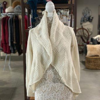 Cloe Alpaca Sweater in Solid Beige