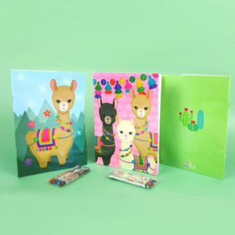 Mini Coloring Book and Pencils