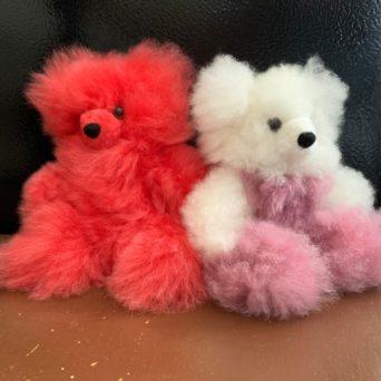 "8"" Teddy Bears in Baby Alpaca"