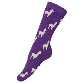 Alpaquita Unisex Socks in Purple
