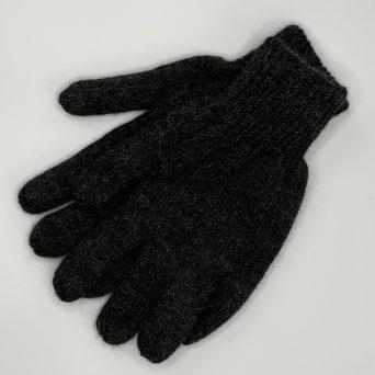 Reversible Gloves in Light and Dark Grey