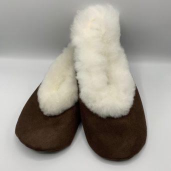 Unisex Alpaca Fur Slippers in Extra Large