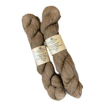 Dark Fawn Lace Alpaca Yarn