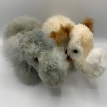 Stuffed Elephant Made from Baby Alpaca