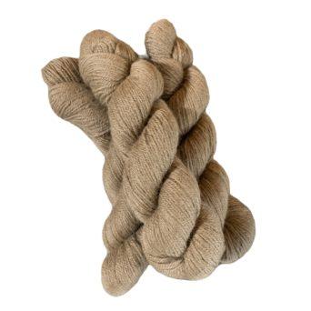 Medium Fawn Fingering Alpaca Yarn