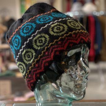 Multicolor Lined Alpaca Hat