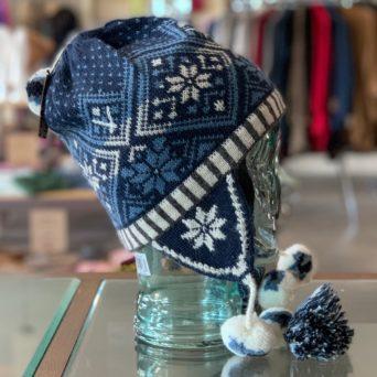 Snowflake Chullo Hat