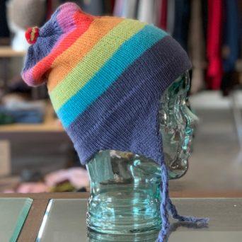 Striped Chullo Hat