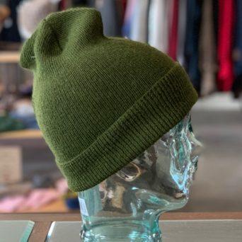 Green Knit Hat Liner