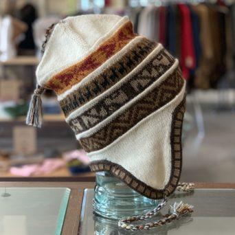 Alpaca Print Chullo Hat