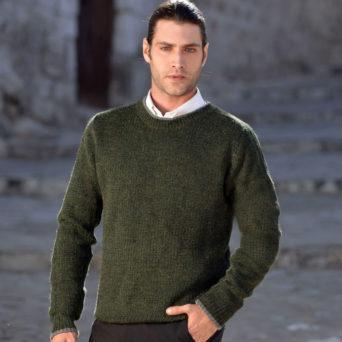 Sebago Alpaca Sweater in Forest Green