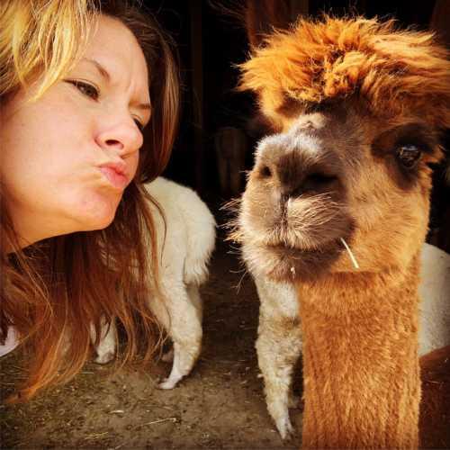 Rebecca and Avalon Selfie